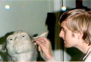 Nick's first job was working as a trainee to legendary Stuart Freeborn, creating Yoda for 'The Empire Strikes Back' - Source