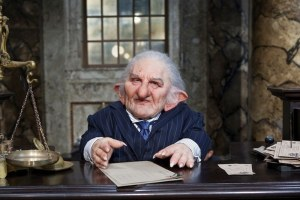 A Gringott's goblin from 'Harry Potter and the Deathly Hallows Part 2' - Source