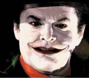 Jack Nicholson as The Joker in 'Batman' - Source