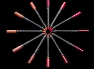 NARS Satin Lip Pencil stylized group shot - low res
