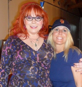 Wendi with Kirsten Vangsness