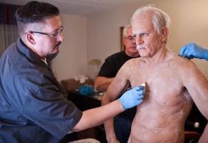 Full body prosthetic work on Knoxville